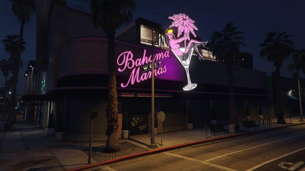Bahamamamas night club in GTA:O