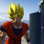 Dragon Ball Z Goku Mod GTA 5