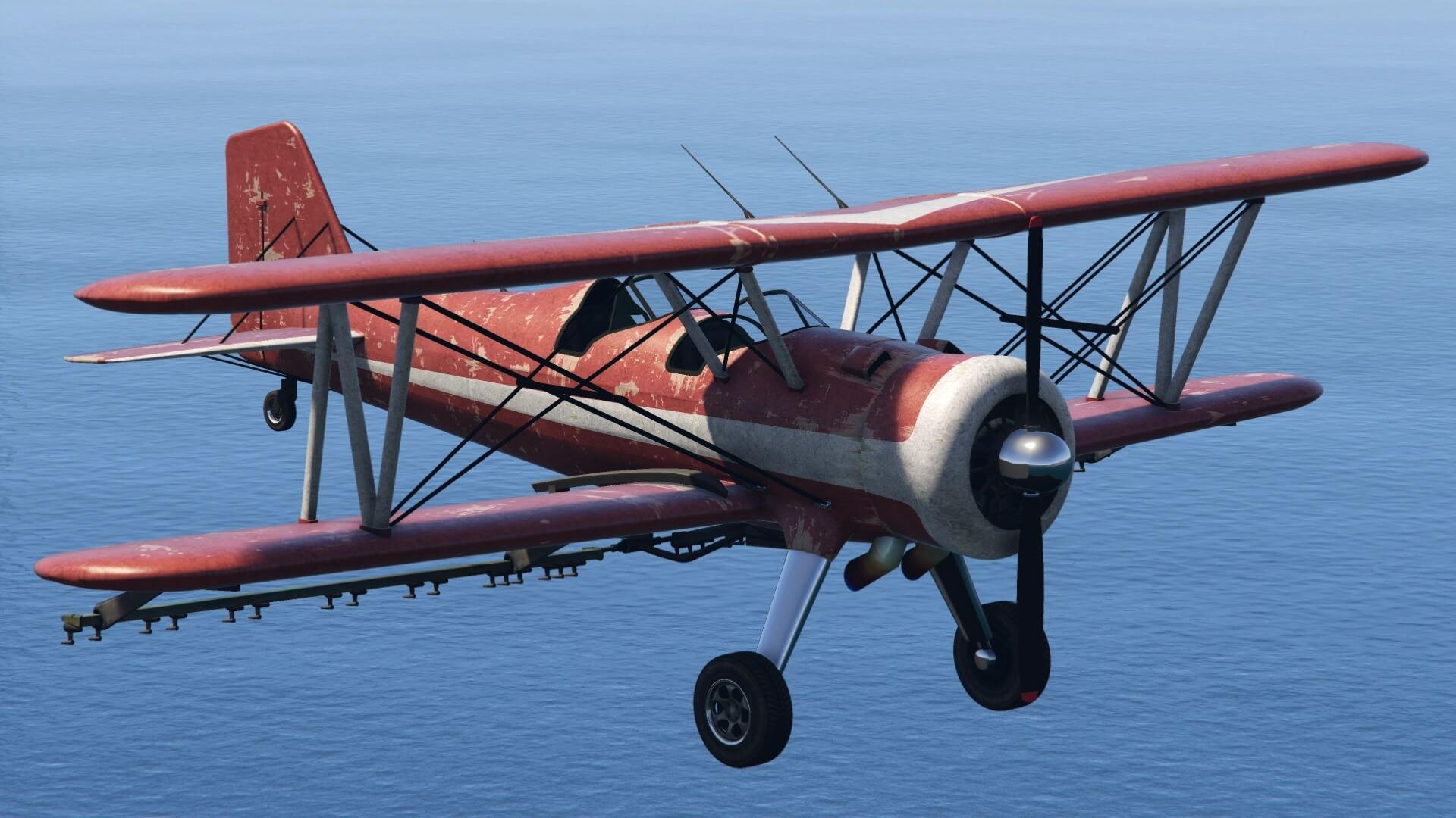 flying Duster plane