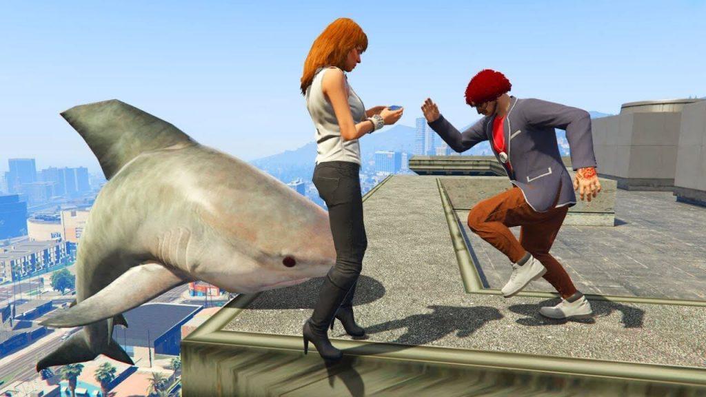 ragdoll gameplay in GTA V