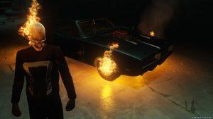 GTA 5 Ghost Rider mod script