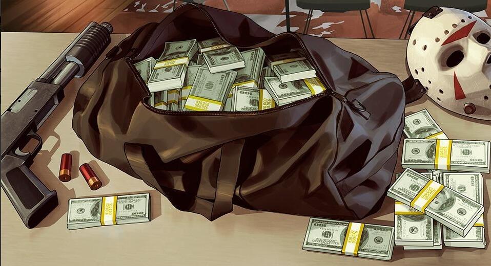 GTA 5 cash bundle money drop
