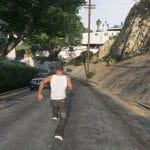 franklin running fast