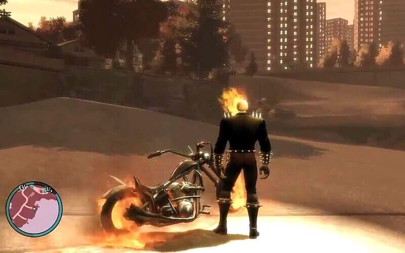 ghost rider script GTA V gameplay