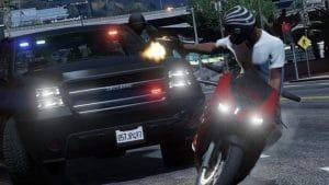 losing the police in GTA V