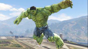 GTA 5 hulk mod script