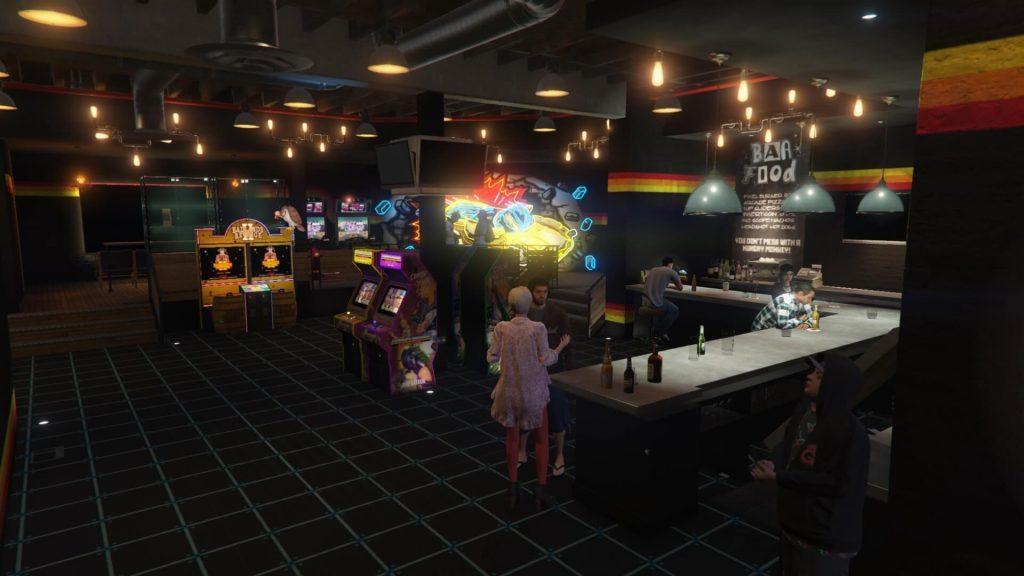Arcade property interior