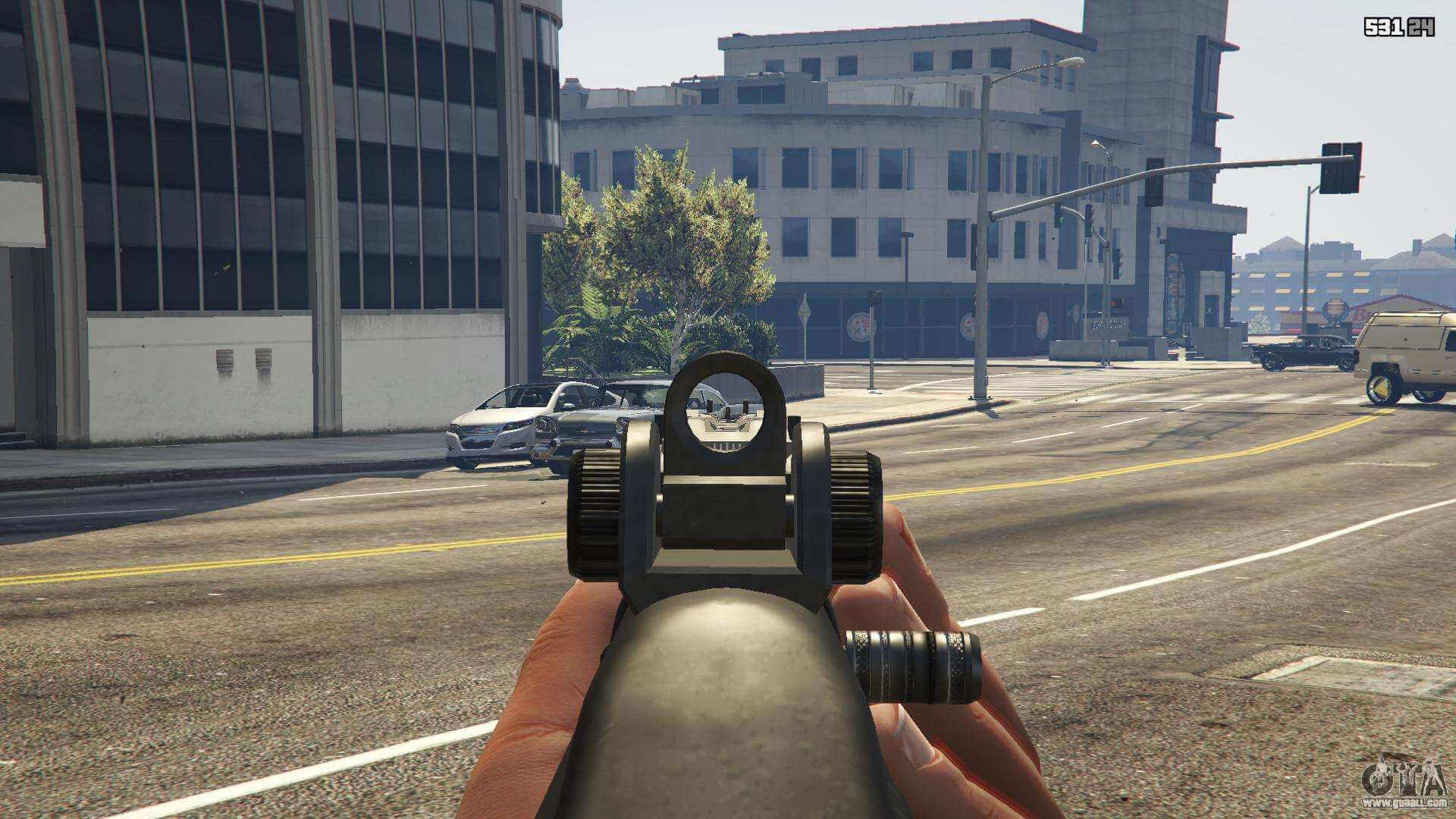 aiming in slow motion First Person cheat