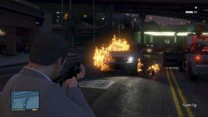 flaming rounds cheat code GTA V