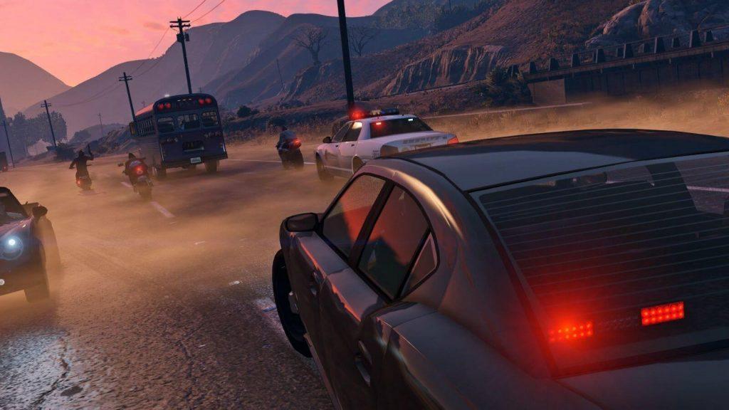 GTA RP server gameplay