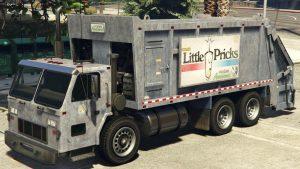 Trashmaster Garbage truck