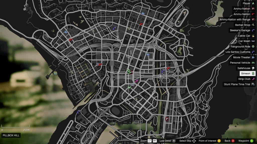 location of letter scrap in Los Santos