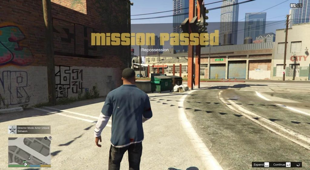 mission passed Franklin