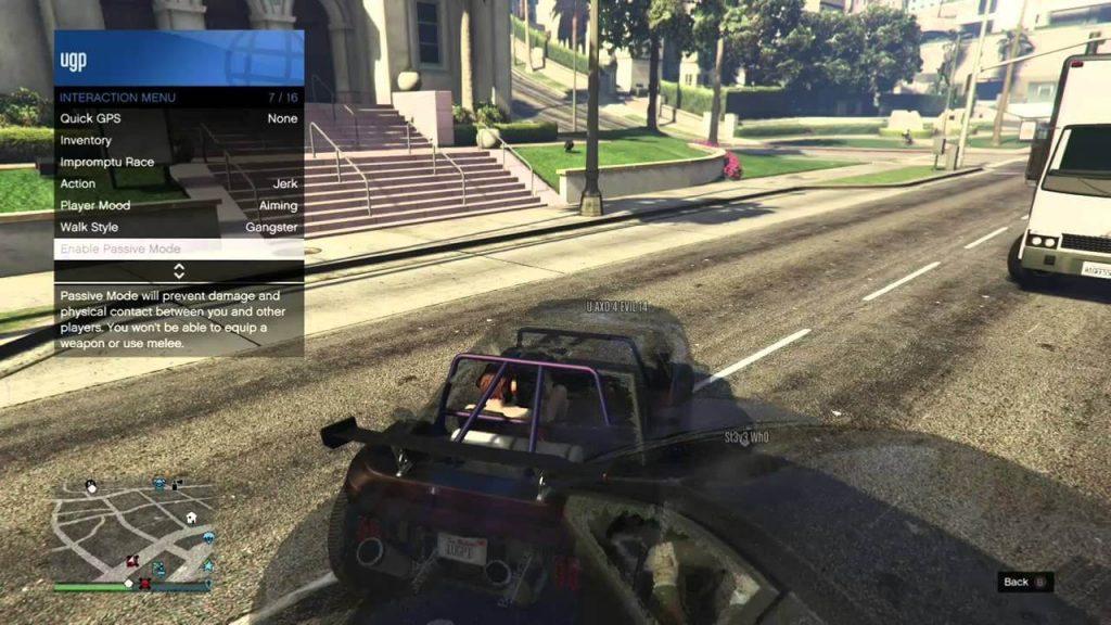 passive mode gameplay