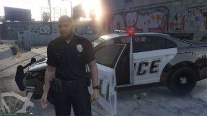 gta 5 police officer