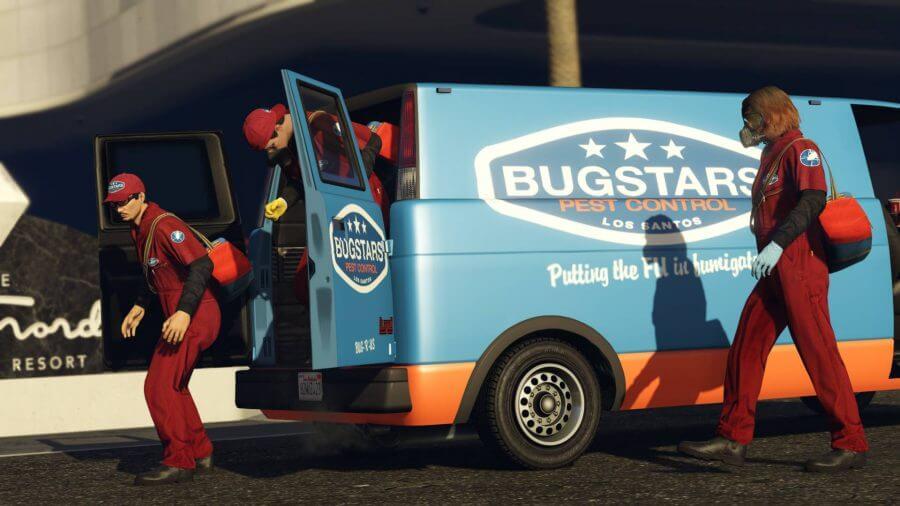bugstars van prep work heist