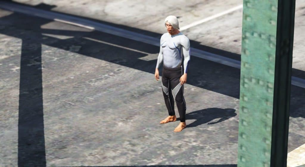 Quicksilver gameplay in GTA V