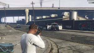franklin shooting at police