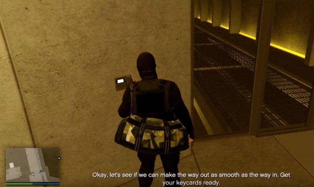 stealth approach heist