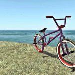 Spawned BMX bike