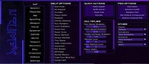 Cherax mod menu showcase