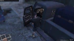 Kiddions Modest Menu gameplay in GTA 5