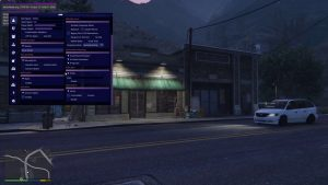 Luna menu GTA 5 Online PC