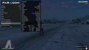 Paragon menu GTA 5 PC