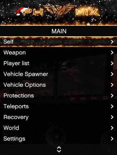 Phoenix mod menu GTA V