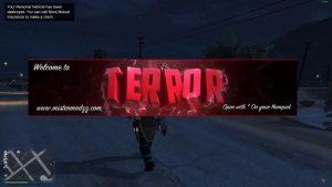 Terror trainer menu GTA V